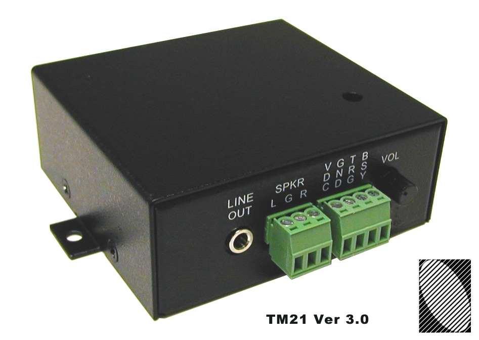 Technovision® TM21 - Industrial MP3 Player